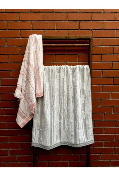Dost Teksti̇l Koleksiyonu Lattıce Pamuklu Banyo Havlusu