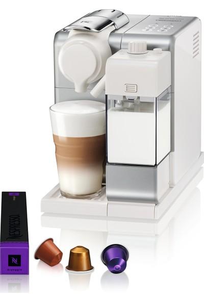 Nespresso F521 Lattissima Gümüş Kahve Makinesi