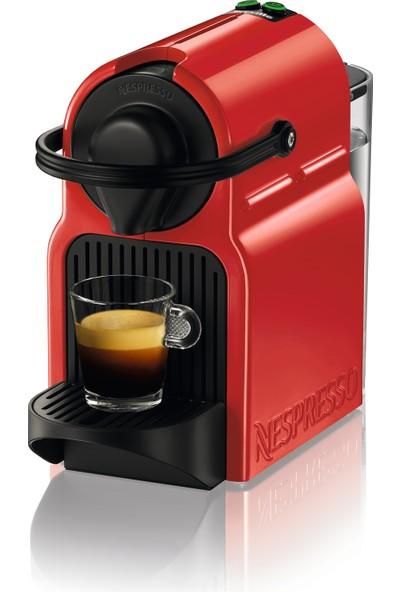 Nespresso İnissia C40 Rubyred Kahve Makinası Kırmızı