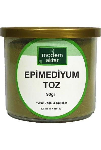 Modern Aktar Doğal Epimedyum Bitkisi Tozu 90 gr
