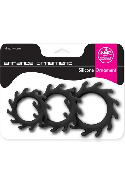 Censan Enhance Ornament Tırtıklı Penis Halkası