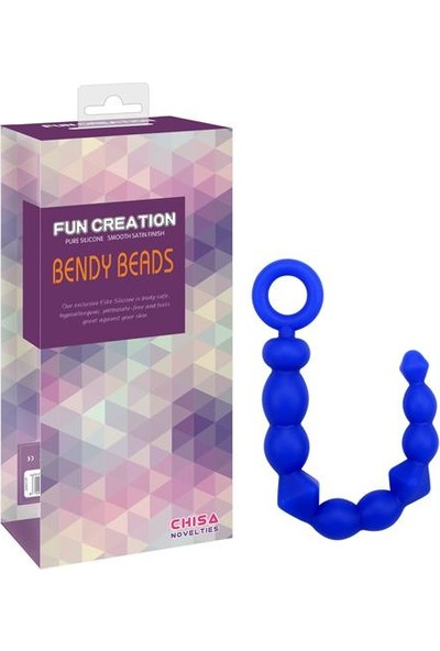 Censan Fun Creation Bendy Beads Silikon Anal Tıkaç