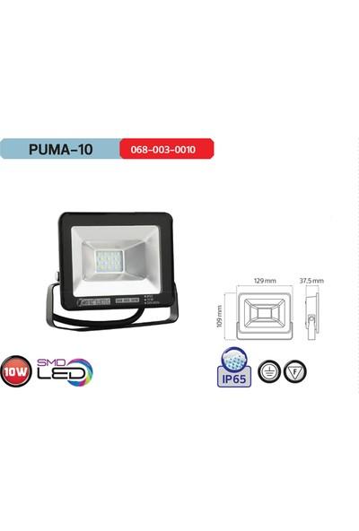 Horoz Puma10 6400 Beyaz Işık Cob Led Projektor
