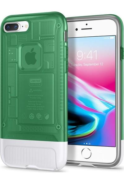 Spigen Apple iPhone 8 Plus Kılıf Classic C1 (10.Yıl Özel) Sage - 055CS24409
