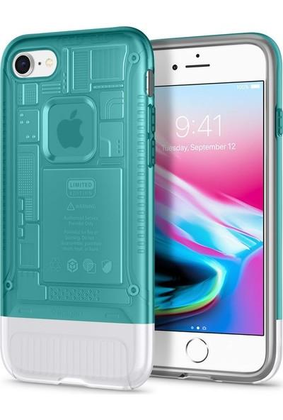 Spigen Apple iPhone 8 Kılıf Classic C1 (10.Yıl Özel) Bondi Blue - 054CS24401