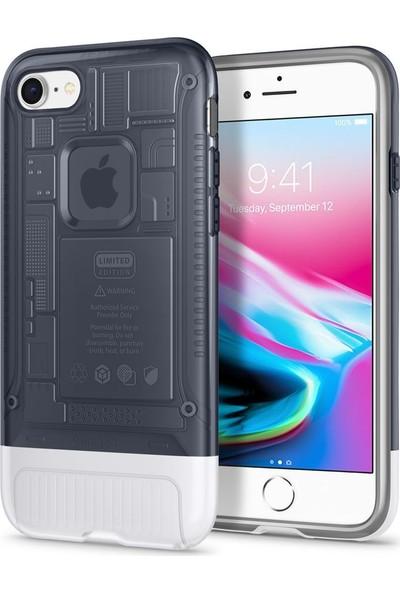 Spigen Apple iPhone 8 Kılıf Classic C1 (10.Yıl Özel) Graphite - 054CS24404
