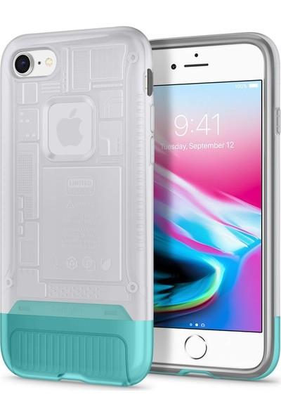 Spigen Apple iPhone 8 Kılıf Classic C1 (10.Yıl Özel) Snow - 054CS24405
