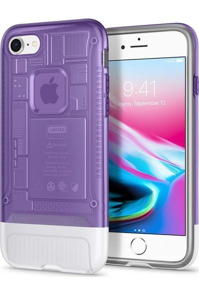 Spigen Apple iPhone 8 Kılıf Classic C1 (10.Yıl Özel) Grape - 054CS24425