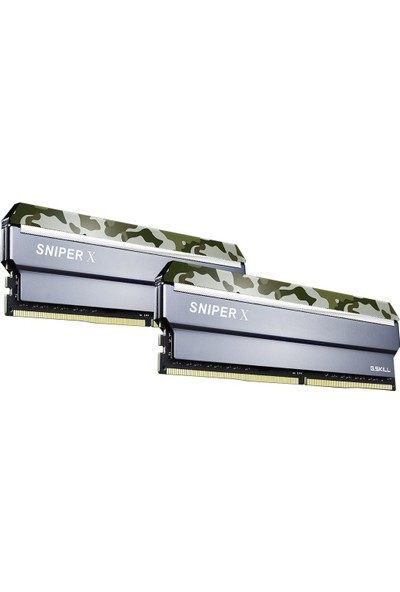 G.Skill SniperX 16GB(2x8GB) 3200MHz DDR4 CL16 Ram (F4-3200C16D-16GSXFB)