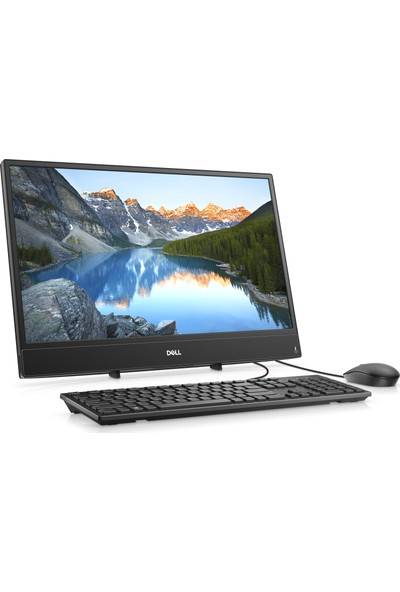 """Dell Inspiron 3277 Intel Core i3 7130U 4GB 1TB MX110 Freedos 21.5"""" FHD All In One Bilgisayar B13GF41C"""