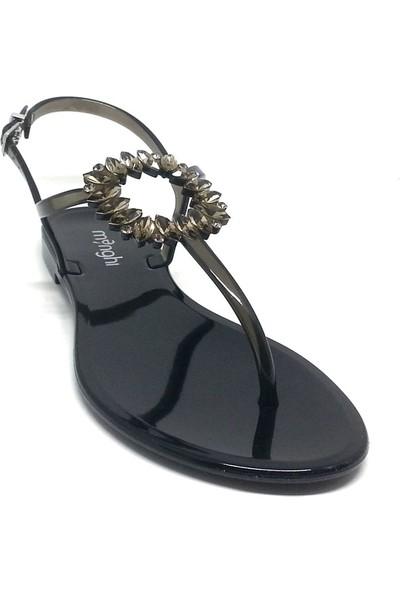 Menghi 086-705 Kadın Sandalet Nero