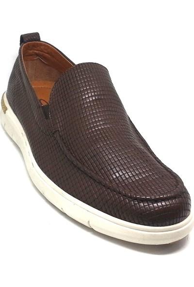 Shop And Shoes 001-557Ga2 Erkek Ayakkabı Kahve