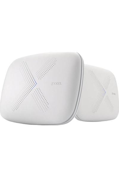 Zyxel WSQ50-EU0201F Multy X AC3000 Tri-Band Tüm Ev Kablosuz Mesh Sistemi