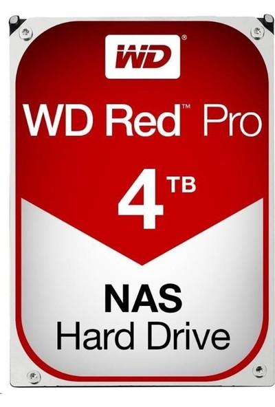 """WD Red Pro 4TB 7200 RPM 128MB Cache Sata 3 3.5"""" Sabit Disk WD4003FFBX"""