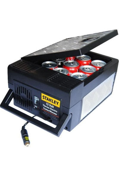 Stanley TRVL9 6,5 Litre Alüminyum Gövdeli Sıcak/Soğuk Oto Buzdolabı (Michelin Dijital Basınç Göstergeli Hava Pompası Hediyeli)
