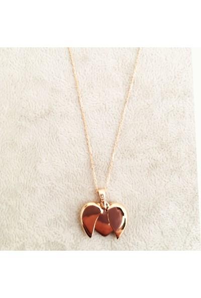 Vella Jewels Gümüş Açılan Kalp Kolye