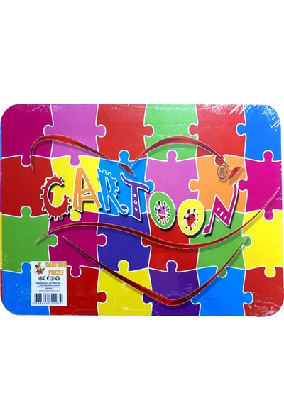Cartoon Network Yapboz Oyuncak Puzzle