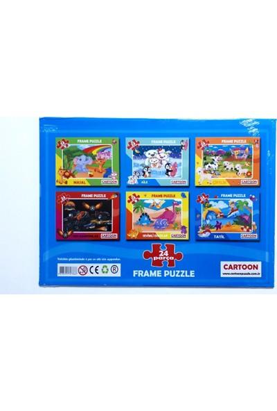 Cartoon Network Oyuncak Yapboz Frame Puzzle