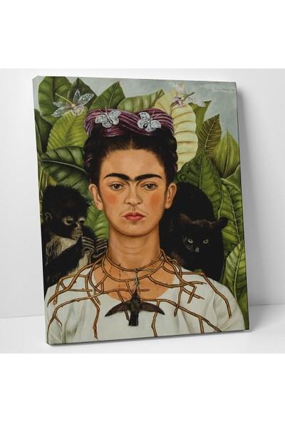 Frida Kahlo Frida Kahlo Otoportre Kanvas Tablo 30 x 40 cm