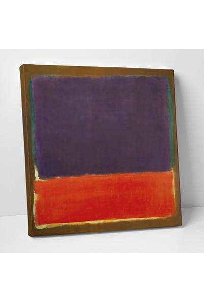 Mark Rothko No 14 Mark Rothko Kanvas Tablo 25 x 25 cm