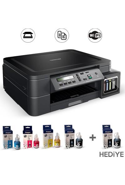 Brother Dcp-T510W Bitmeyen Kartuşlu A4 Yazıcı+Tarayıcı+Fotokopi (Photoink Mürekkepli)