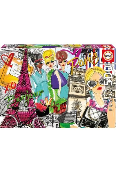 Educa Puzzle Take Me To Paris 500 Parça Puzzle