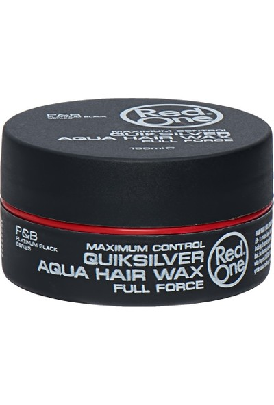 Redone Aqua Wax   Quicksilver