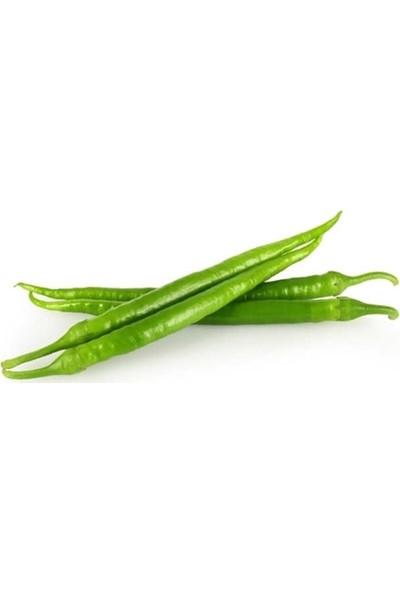 Doğal File Yeşil Biber 1 kg