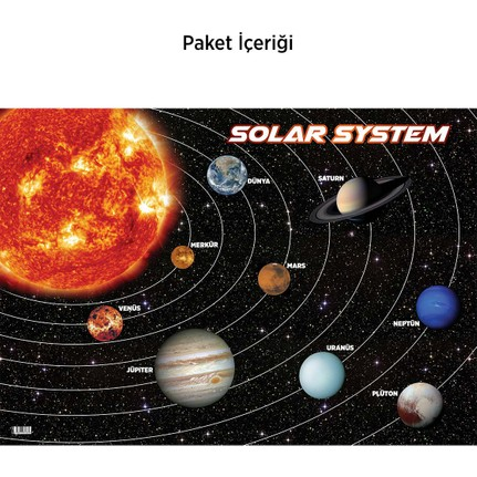 Artikel Güneş Sistemi Duvar Sticker Fiyatı Taksit Seçenekleri