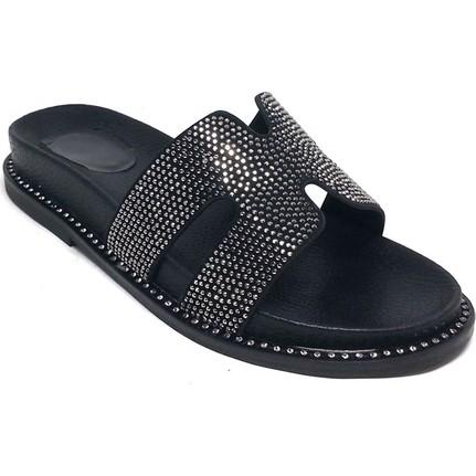 Shop And Shoes 122-186 Gümüş Kadın Terlik