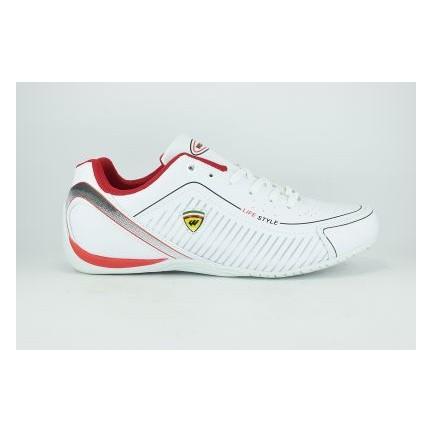 Wickers 2122 Merdane Anorak Termo Bağcıklı Erkek Spor Ayakkabı Beyaz