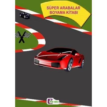 Süper Arabalar Boyama Kitabı Fiyatı Taksit Seçenekleri