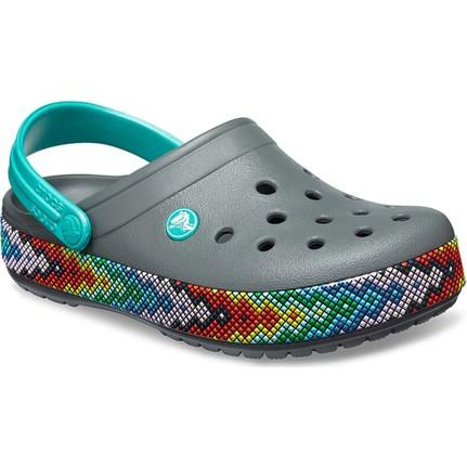 Crocs 205166-0DA Gri Kadın Terlik