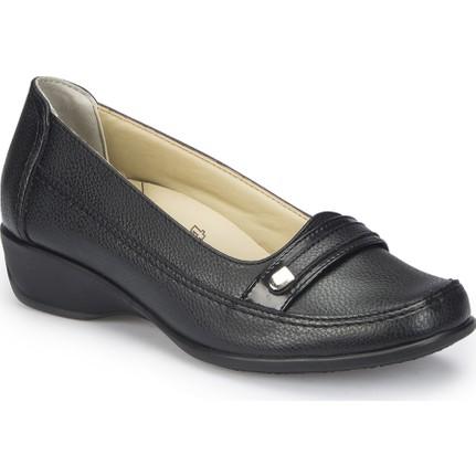 Polaris 81.111002.Z Siyah Kadın Günlük Ayakkabı
