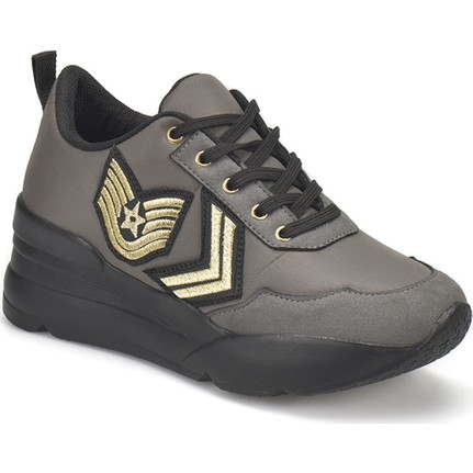 Butigo 18S-174 Haki Kadın Ayakkabı