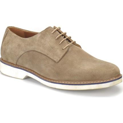 Garamond Erg-46 Bej Erkek Deri Ayakkabı
