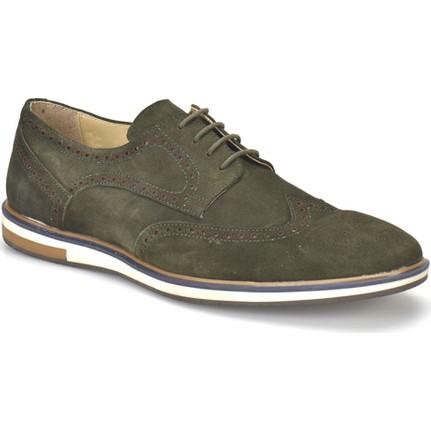 Garamond PRG-7 Haki Erkek Deri Ayakkabı