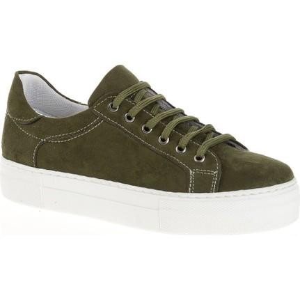 Derigo 34101 Haki Kadın Günlük Ayakkabı