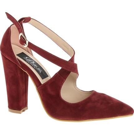Derigo 20340 Kadın Ayakkabı Bordo