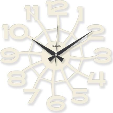Regal 1158 W Lazer Kesim örümcek Ağı Beyaz Duvar Saati Fiyatı