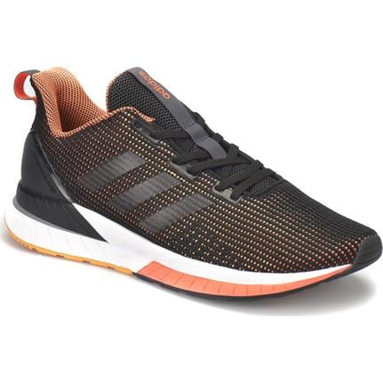 Adidas Questar Tnd Siyah Siyah K Turuncu Erkek Koşu Ayakkabısı