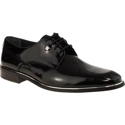 Fosco 8035m Bağsiz Klasik Siyah Erkek Ayakkabı