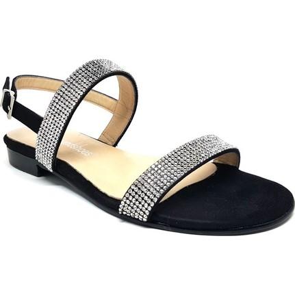 Shop And Shoes 128-3508 Siyah Kadın Sandalet