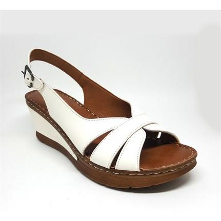 Shop And Shoes 013-151 Beyaz Kadın Ayakkabı