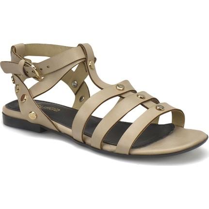 Butigo 18S-016 Bej Kadın Sandalet
