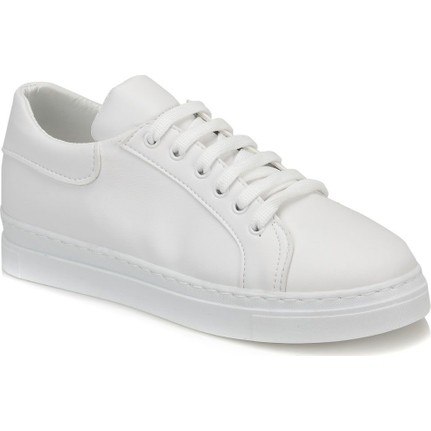 Butigo Aden Beyaz Kadın Sneaker