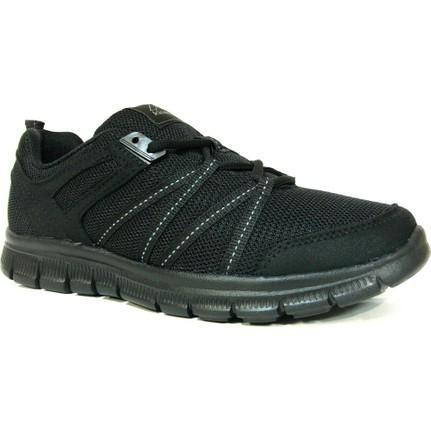 Kinetix Melina Siyah Bağcıklı Spor Ayakkabı  Ücretsiz Kargo