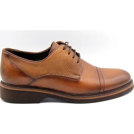 Kingwest Klasik Gri Renk Erkek Ayakkabı