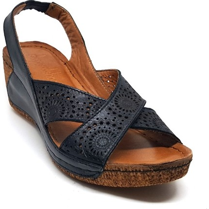 Shop And Shoes 001-080705  Taba Kadın Sandalet