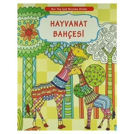 Her Yas Icin Boyama Kitabi Hayvanat Bahcesi Fiyati